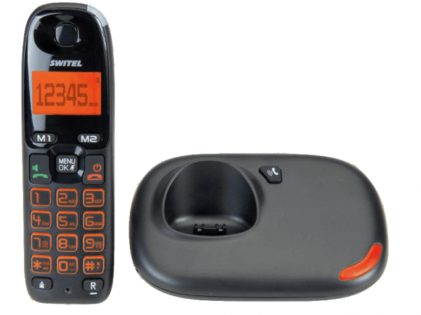 SWITEL DC5002 VITA Schnurloses Telefon-Set