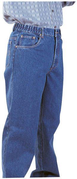 Dehnbund-Jeans, Farbe blau, Gr. 29
