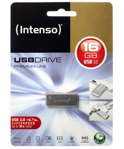 Intenso USB-Drive 3.0 Premium Line, USB Stick 16 GB