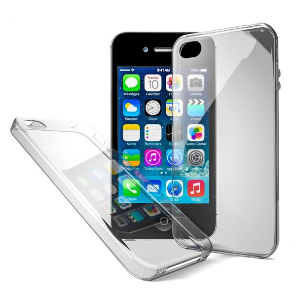 AS iPhone 4, 5 & 6 Handy Tasche Case Hülle Schale Bumper Cover Hard Silikon Schutz