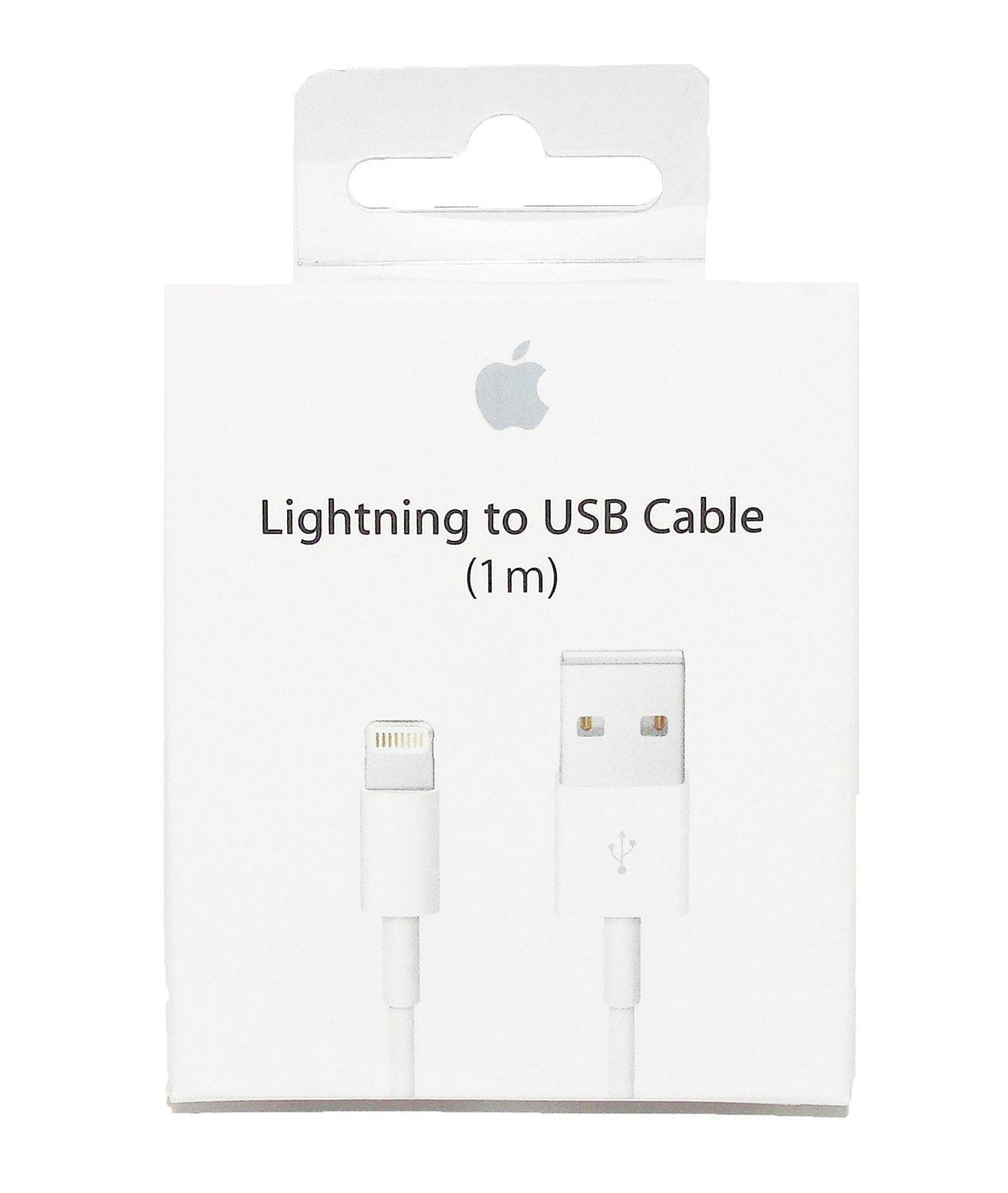 apple lightning auf usb kabel a1480 md818zm a 1 0 m in. Black Bedroom Furniture Sets. Home Design Ideas