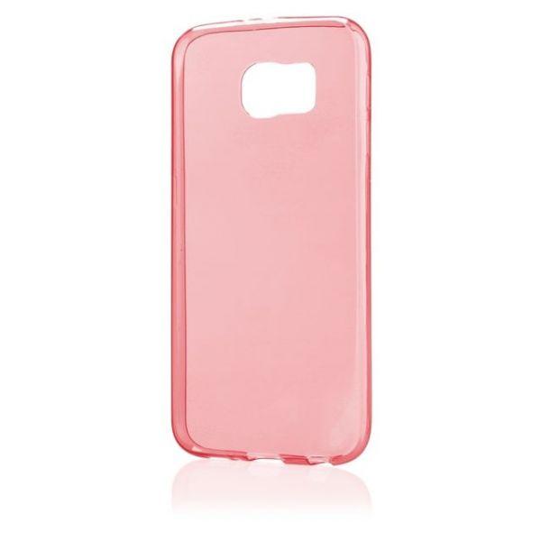 AS Samsung S6 / G9200 Silikon Hülle Schale Cover Tasche Case Handy Schutz TPU - Pink