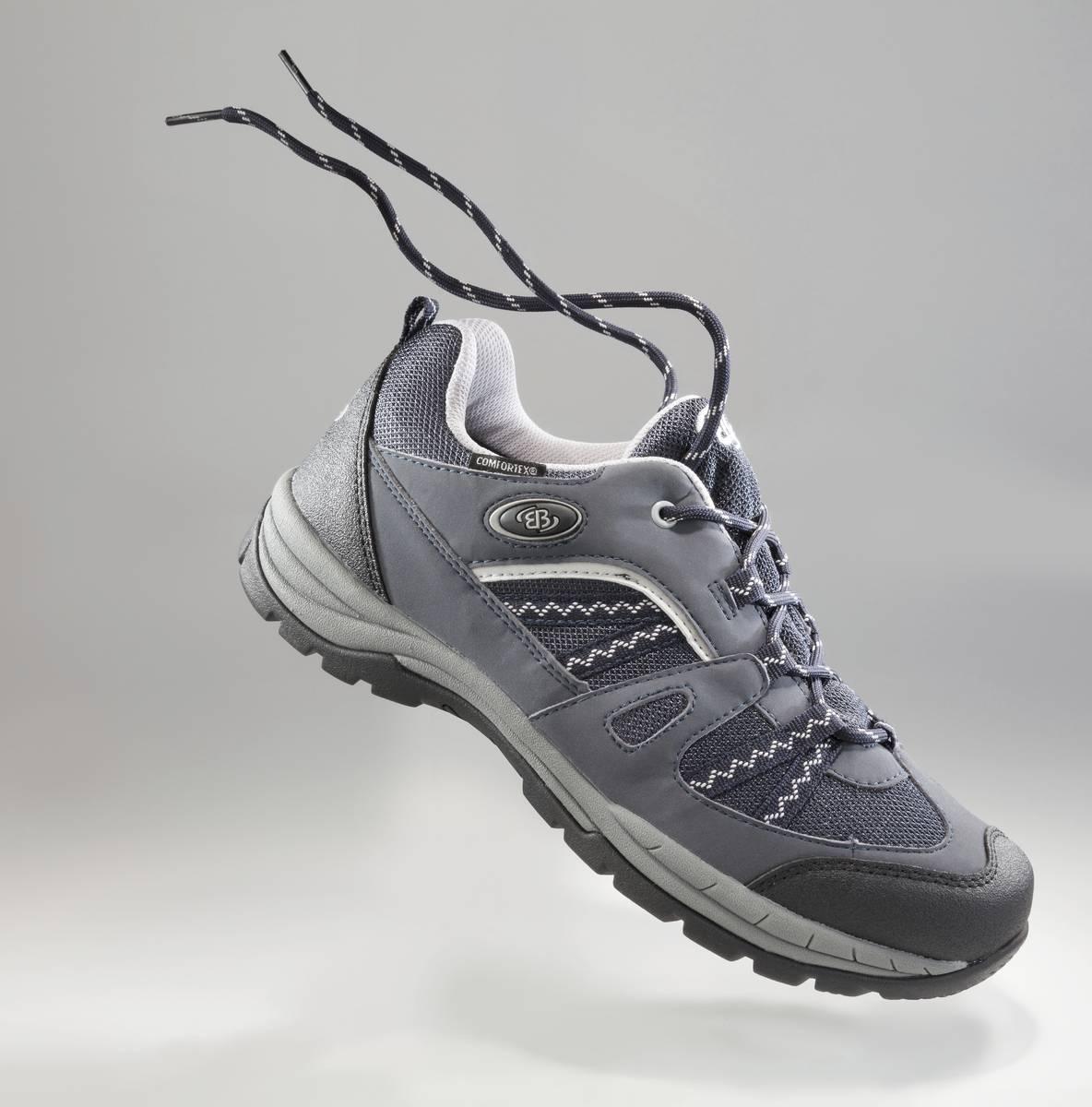 sports shoes 16152 9d888 EB Brütting Outdoorschuh mit auswechselbarer Innensohle, Farbe marine/grau  Gr. 46