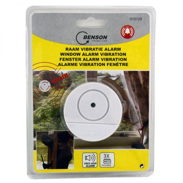 Fenster Alarmanlage Einbruchschutz mit Vibrations-Empfindlichkeit