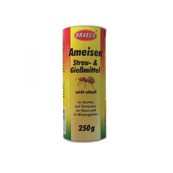 Braeco Ameisenstreu- und Gießmittel 250 g