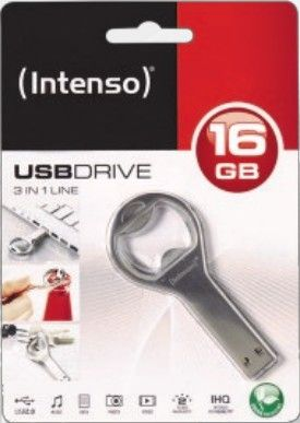 Intenso USB-Drive 2.0 3 in 1 Line, USB 2.0 USB Stick 16 GB
