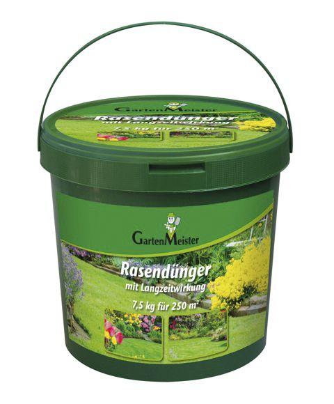 Garten Meister Rasendünger LZW 7,5 kg