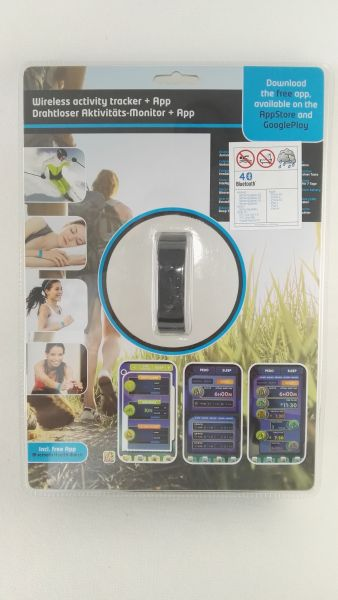 Fitness Armband Fitnessarmband Bluetooth Sport LED Schrittzähler Kalorienzähler
