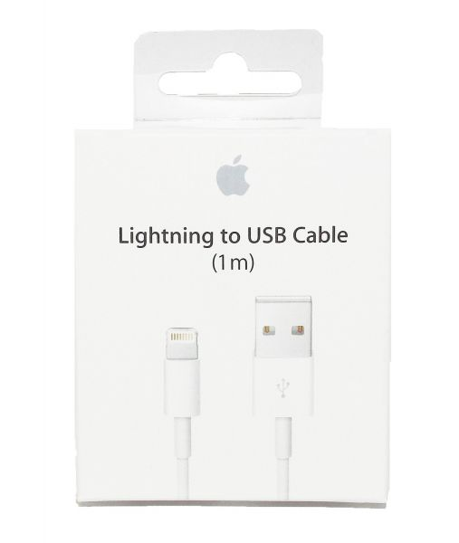 Apple Original Lightning USB Kabel Ladekabel 1m für iPhone 7 Plus, 6 S 5 & iPad