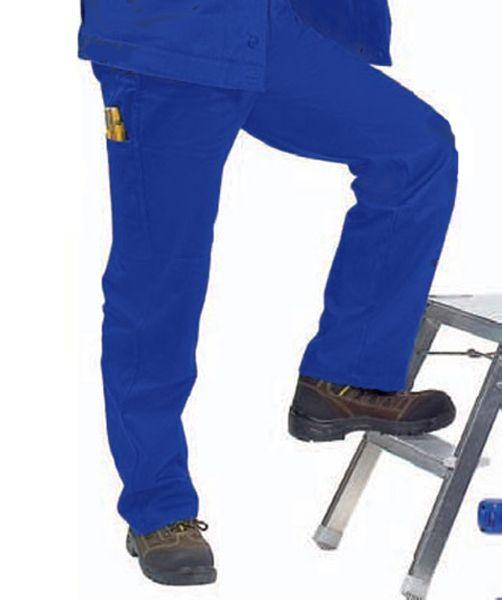 Arbeitsbundhose, hydronblau, Gr.28, blau