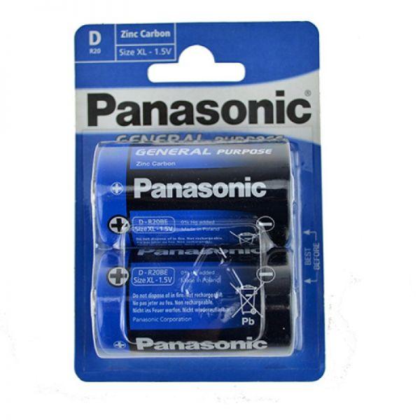 Batterie Plus D R20 Mono 1,5V - Blister 2er Pack